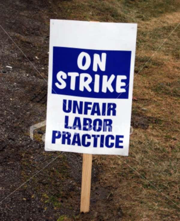 God Is On Strike!