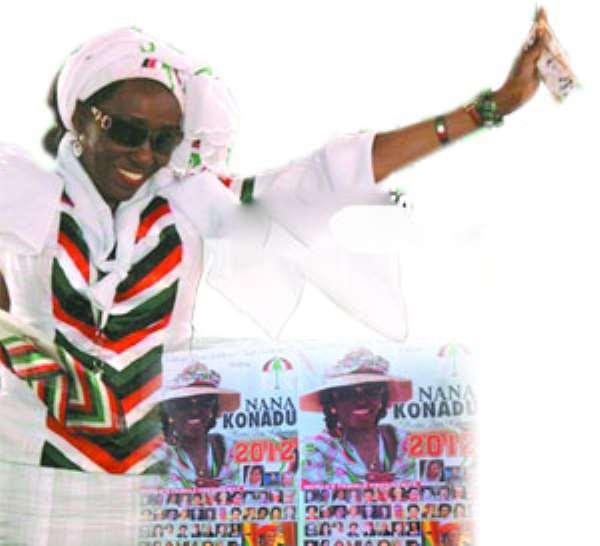 Nana konadu Agyeman Rawlings, &  Nana Konadu for president posters