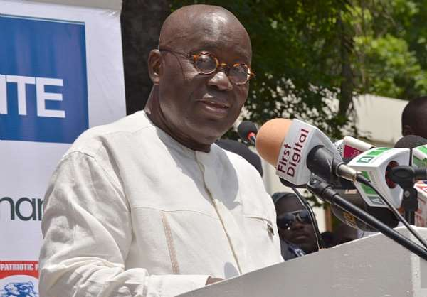 Don't Damage NPP's 2016 Chances With Inner Bickering - Nana Addo