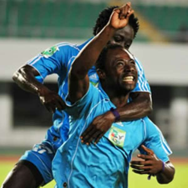 Medeama got a win away from home