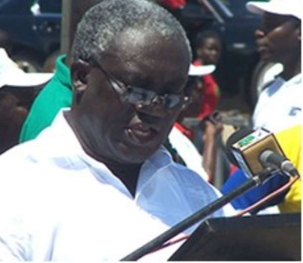 """TUC boss Kofi Asamoah pointed out """"... millions of Ghanaians are forced to eke out of a living in precarious employment in the ever expanding informal sector."""""""