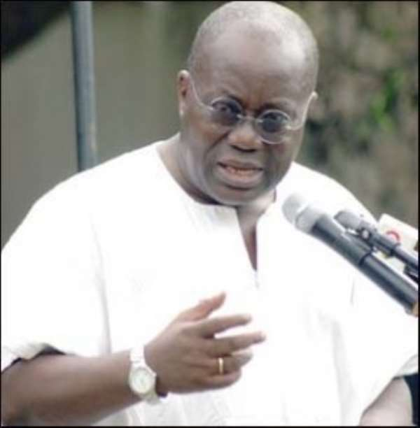 Sleeping Akufo-Addo Caused Judgement Debts Mess