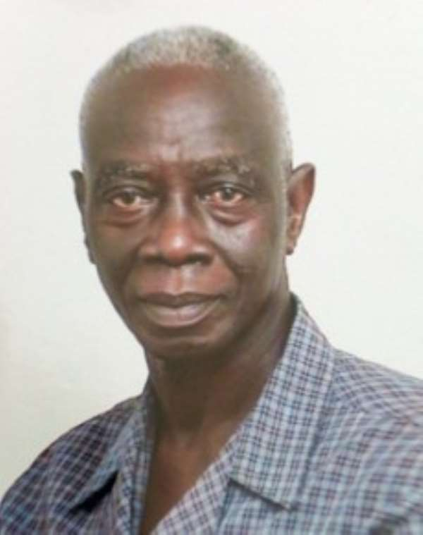 Dr Afari Gyan is EC Chairman