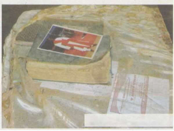 Bible remains intact after gas inferno