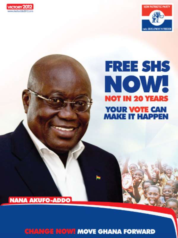 Who Says Akufo-Addo Invented Free Senior High School Education?