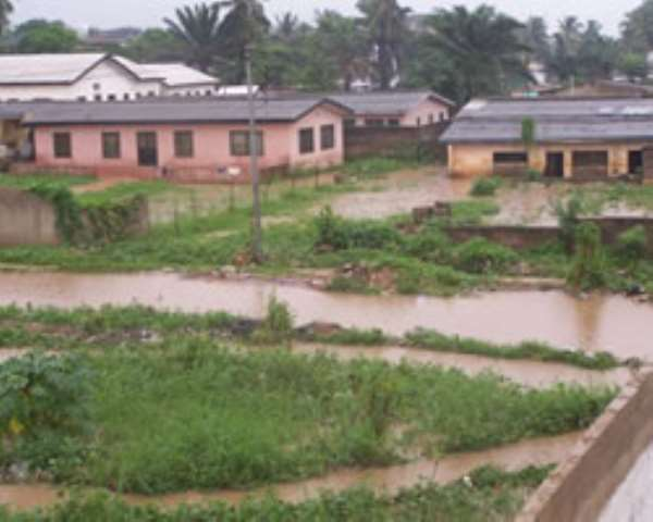 Unauthorised structures have caused flooding in many parts of the city during the raining season