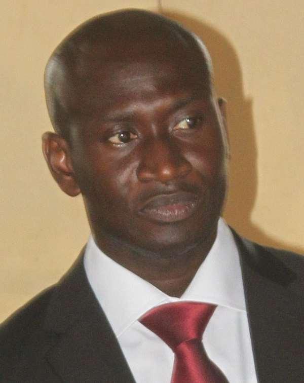 Philip Padi, the Commissioner of Kloma Gbi