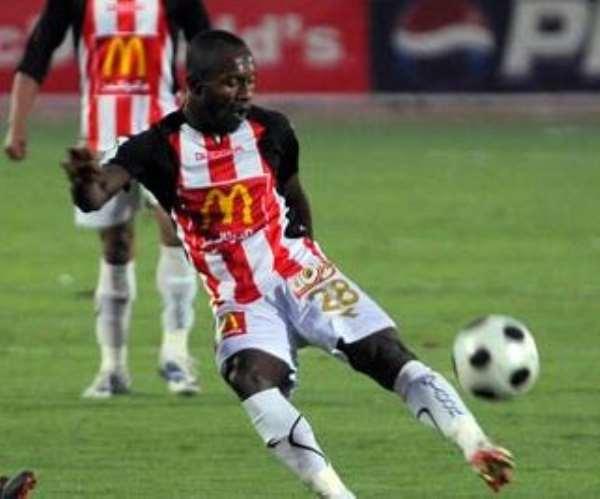 Ernest Papa Arko is confident about Ghana's chances against Egypt