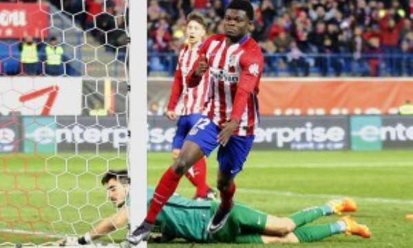 Ghanaian midfielder Thomas Partey staying grounded despite explosive form at Spanish side Atlético Madrid