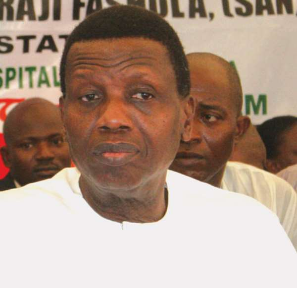 Pastor Adeboye, RCCG and Homophobia in the Pacific