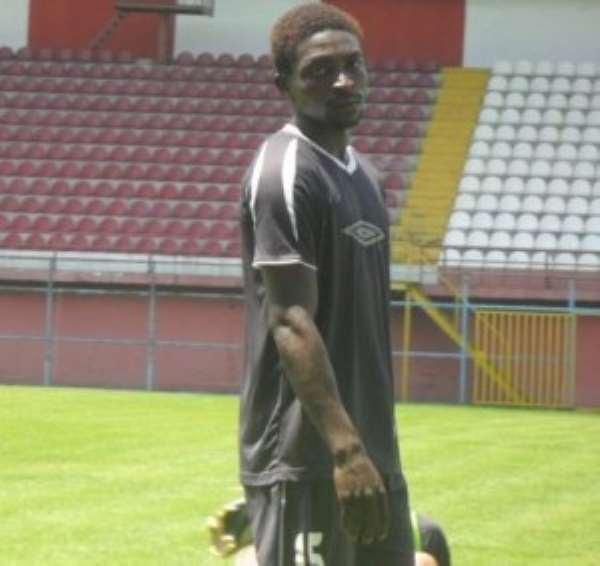 Berekum Chelsea defender Paul Aidoo undergoes successful medical at Medeama as he signs permanent deal today