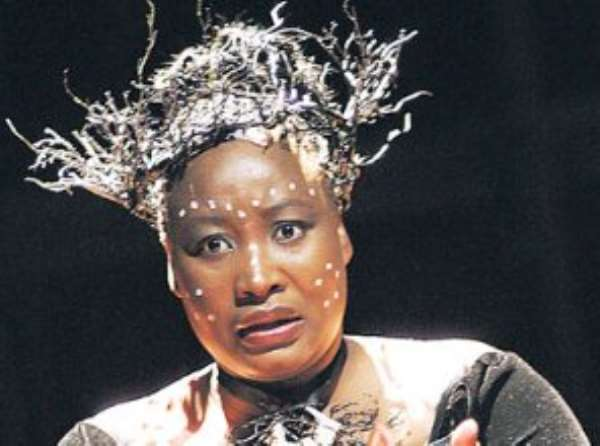 South African opera star Pauline Malefane is promoting theatre to help nation building