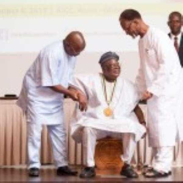 PAWA Congratulates Prof Osofisan