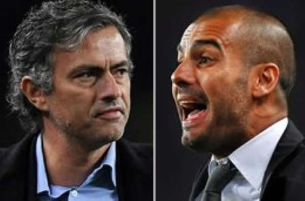 Mourinho's men were humbled by Pep's boys