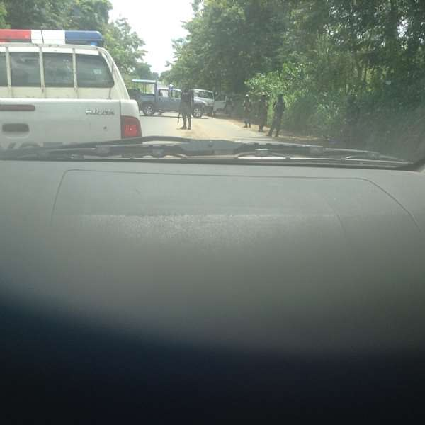 Governor Amaechi Ambushed by Federal Government Security Agents