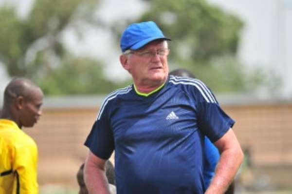 Medeama FC will bounce back, coach Vander Pluijm