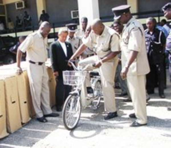 Electronic Bikes For Police