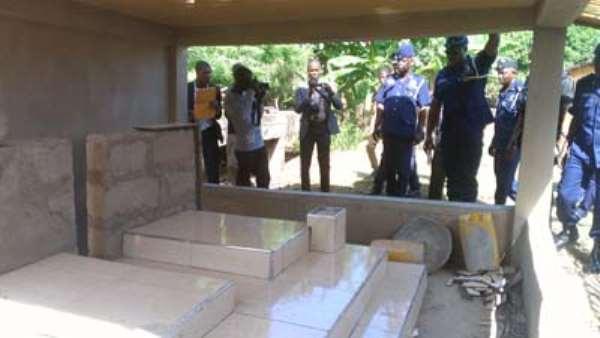 Befitting Burial For Shot Cops