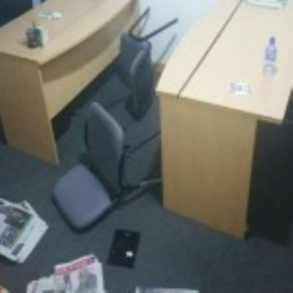 Danquah Institute ransacked by alleged security operatives