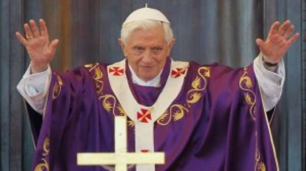 God Told Me To Resign -Ex Pope Benedict