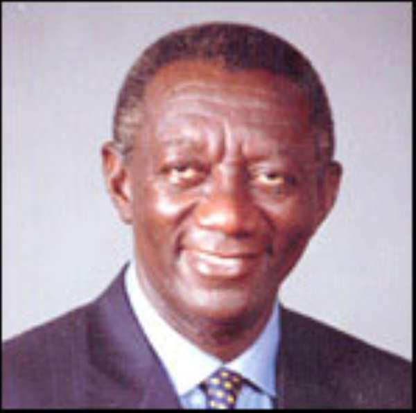 Ghana President denies opposition
