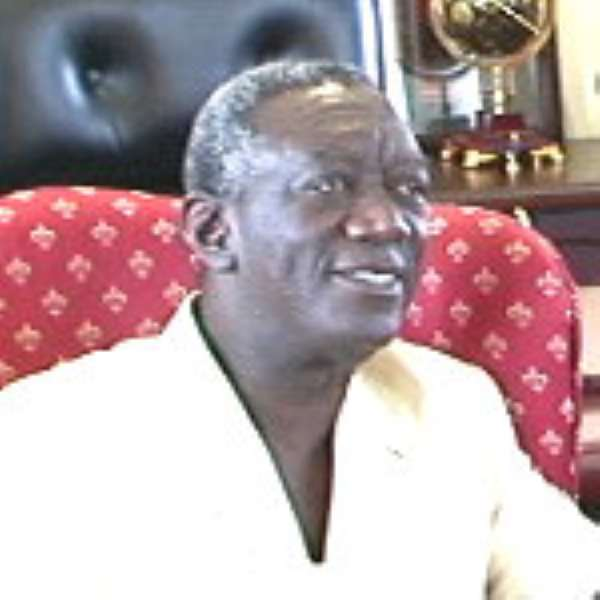 Kufuor restructures ministerial team