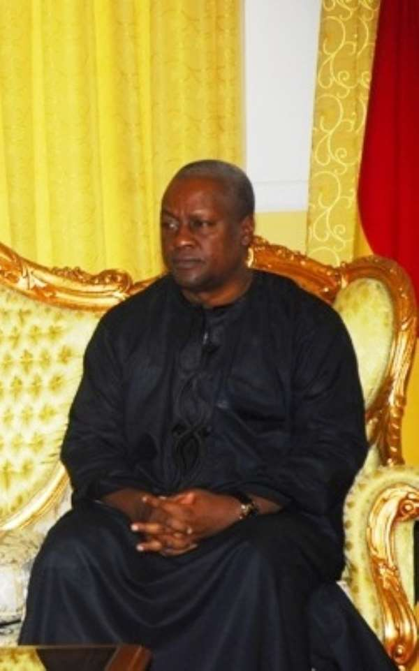President Mahama promises inclusive government