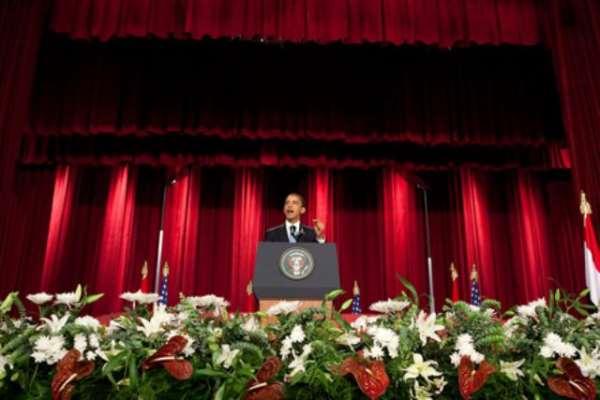 President Obama addresses Muslim World at Cairo