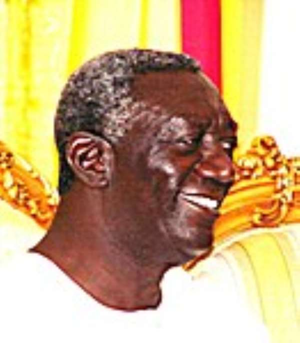 I am overjoyed by Stars victory - President Kufuor