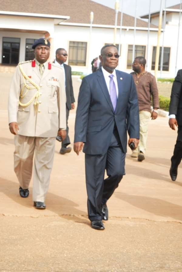 President Mills leaves for ECOWAS Extraordinary Session on Mali
