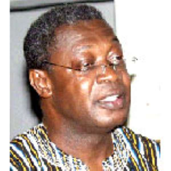 Prof Agyeman Badu Akosah, Director General of Ghana Health Service