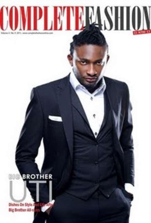 BIG BROTHER AFRICA 2010 WINNER UTI NWACHUKWU COVER COMPLETE FASHION MAGAZINE