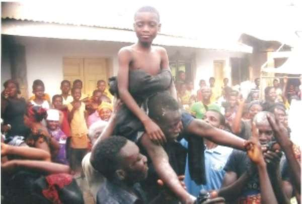 11-Year-old installed chief linguist