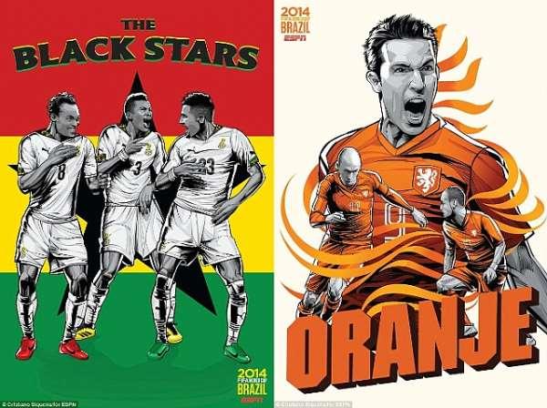 Netherlands v Ghana: 3 Major talking points