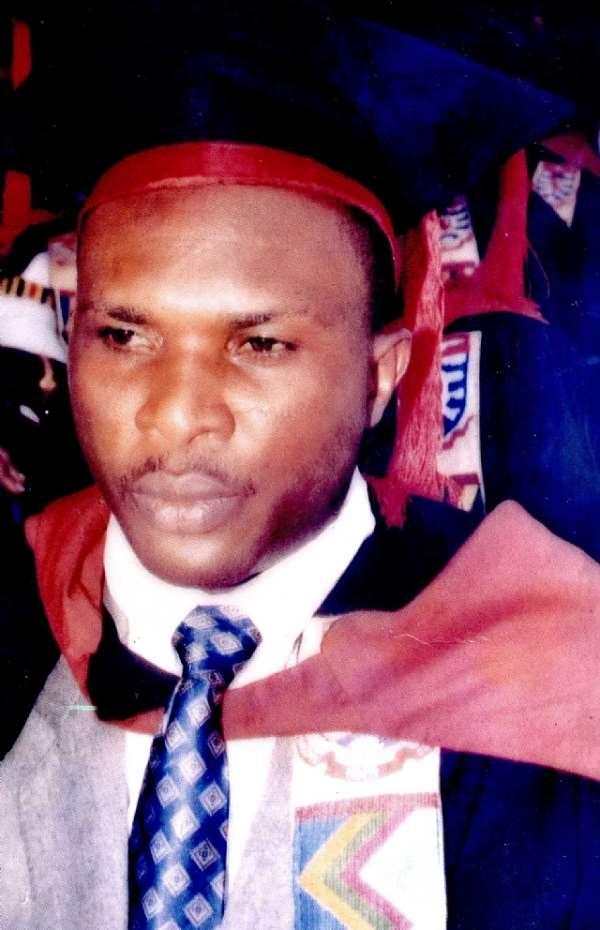 Burial service for Headmaster of Opportune Senior Secondary School