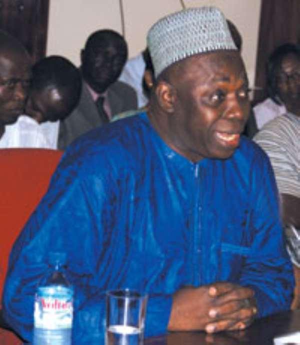 Minister of Foreign Affairs and Regional Integration, Alhaji Muhammad Mumuni