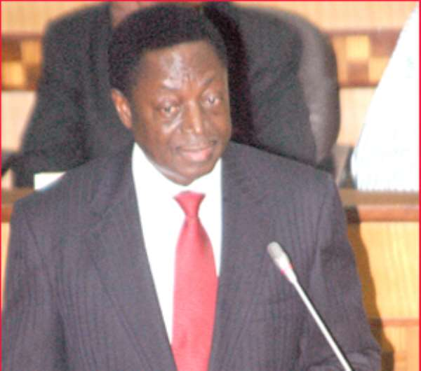Dr. Kwabena Duffuor, Finance Minister and Ecomonic Planning