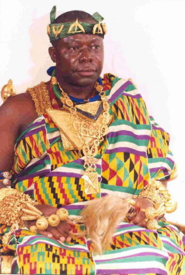 Is The Asantehene Jinxed Or He Does It On Purpose?