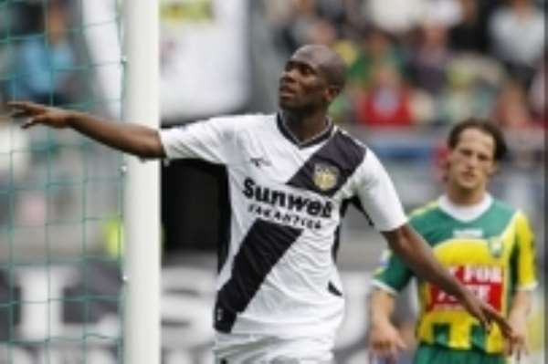 Amoah is ready to play for NAC again