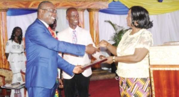 Greater Accra Assemblies of God pledges to promote solar energy