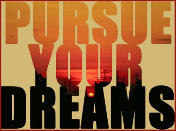 PURSUE YOUR DREAM: DON'T BE STOPPED BY  MEN'S NEGATIVE COMMENTS