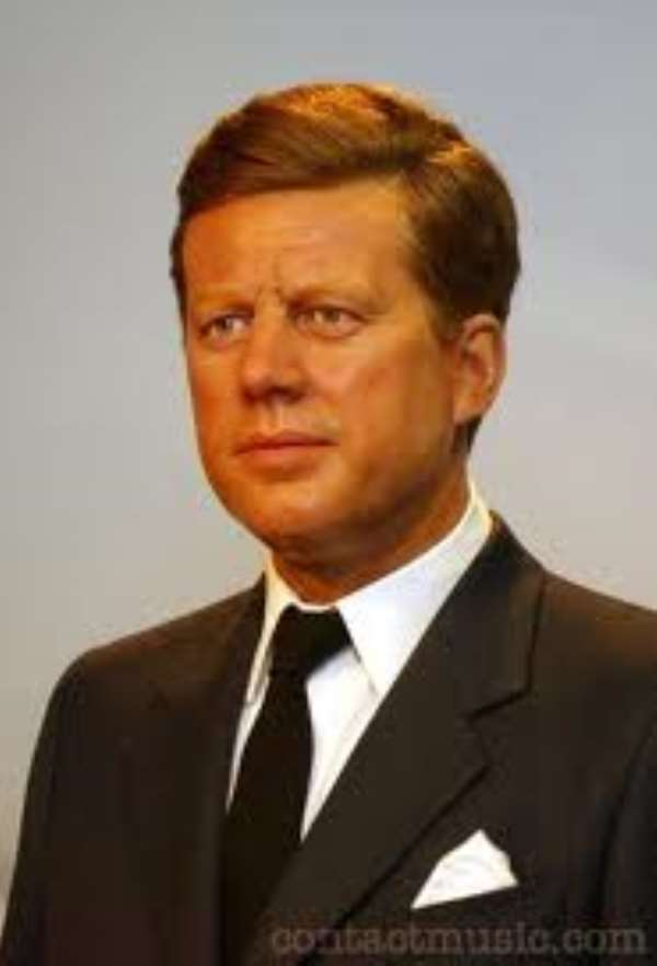 John F. Kennedy, 35th President of the USA assassinated in 1963