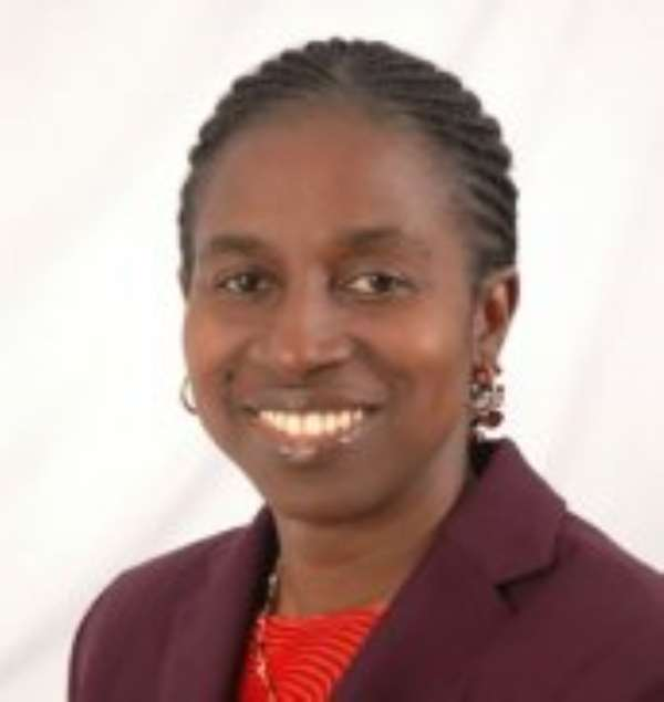 Dr Grace Bediako- Government Statistician