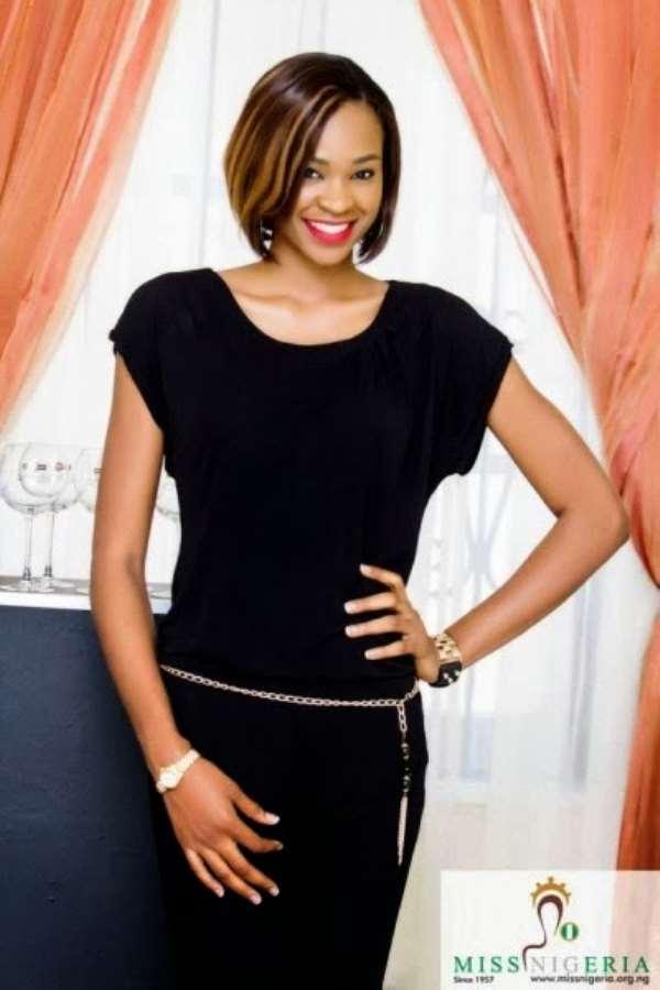 Photos : Miss Nigeria Contest Winner, Ezinne Akudo Anyaoha Celebrates At Lekki Home