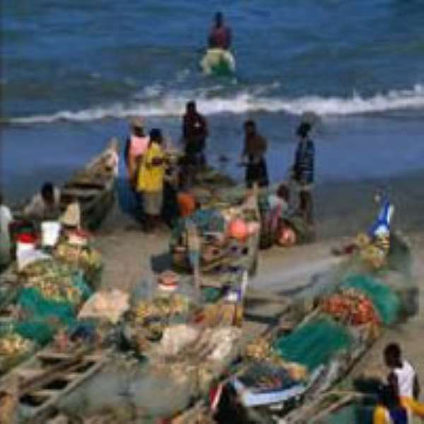 Navy arrests fishermen, seize canoes and boats
