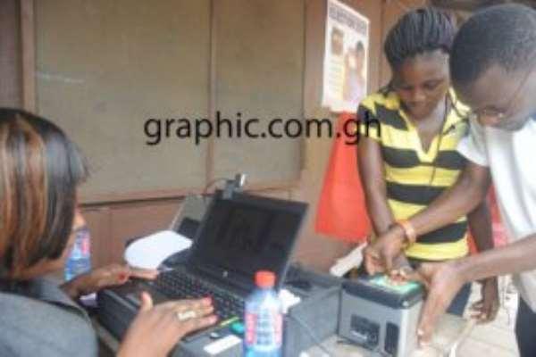 Mop Up Biometric Registration In Eight Regions