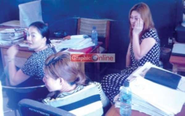 2 Chinese grabbed for human trafficking