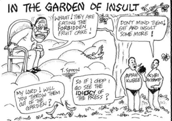 In The Garden Of Insult