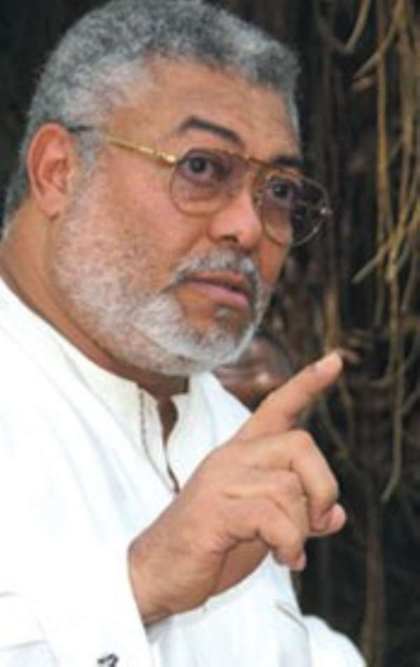 Rawlings Disenchantment With His Party (NDC) Must Be a Wake-Up Call for His Hardcore Supporters in This 2012 Election.