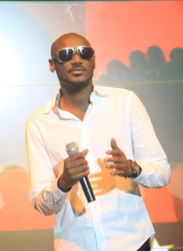 2FACE IDIBIA DAZZLES AT TOUCH OF GENIUS AWARDS